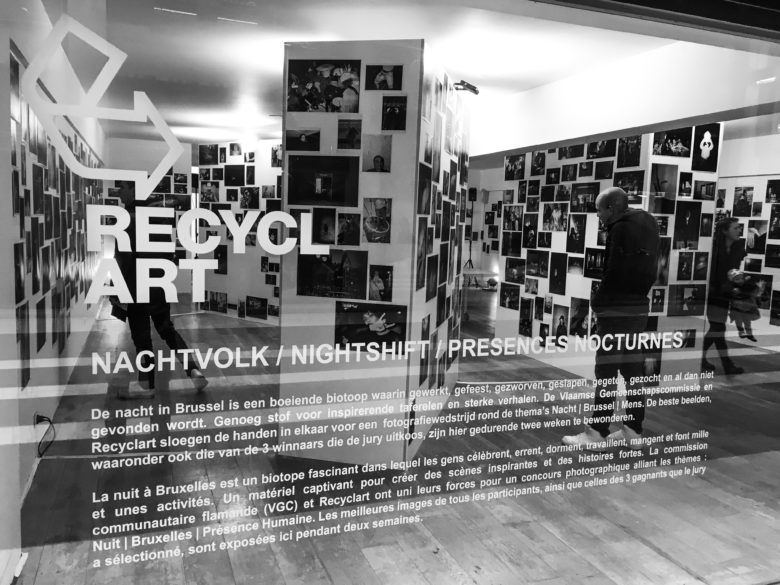 Our photographer Jeremy Gerard at nightlife exhibition