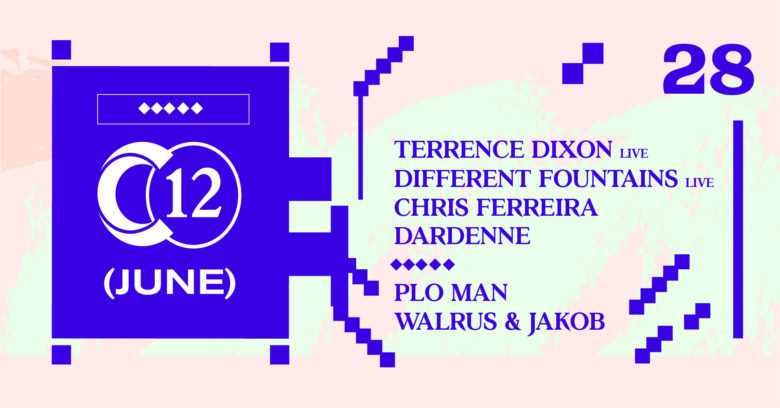 Terrence Dixon live / PLO Man / Different Fountains live