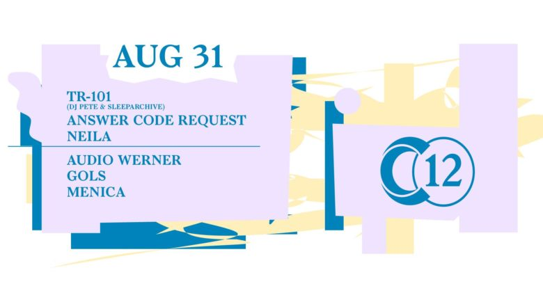 C12 x Ojoo • Answer Code Request / Tr-101 / Audio Werner