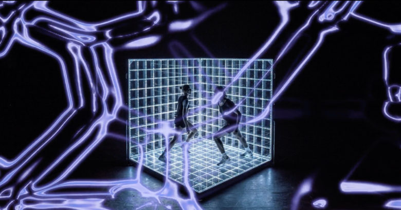 Dance performance 'Tickling' for Intersections by Psst Mlle.